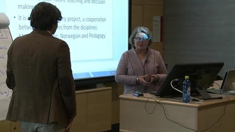 Thumbnail for entry Jørn Varhaug - Ideas for further development of UiA as teacher education instiution