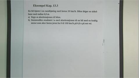 Thumbnail for entry Eksempel 13.3