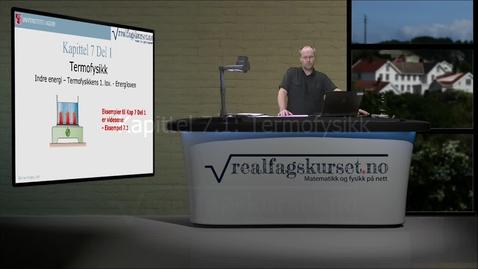 Thumbnail for entry Kapittel 7.1: Termofysikk