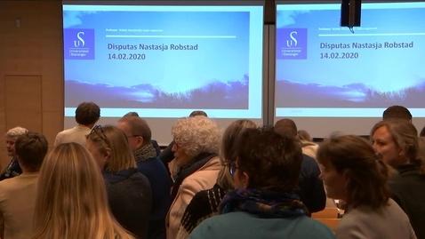 Thumbnail for entry Natasja Robstad Disputas - 2020-02-14 Del 2