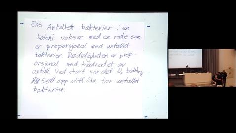 Thumbnail for entry NITO Mattekurs våren 2015 - Time 3
