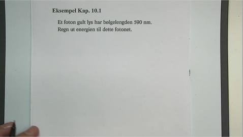 Thumbnail for entry Eksempel 10.1