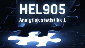 Thumbnail for entry HEL905 - 06 Analytisk statistikk 1