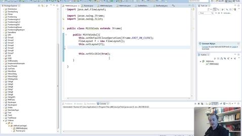 Thumbnail for entry Dynamisk bruk av JList