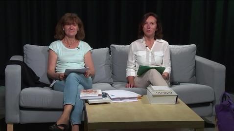Thumbnail for entry Britt og Francine - Innledning til nettkurset i fransk