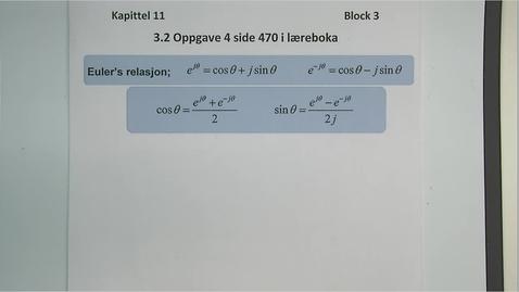 Thumbnail for entry Kapittel 11 3.2.1 Oppgave 4 side 470