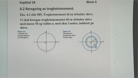 Thumbnail for entry Kapittel 18 4.2.1 Beregning av treghetsmoment eksempel 4.2