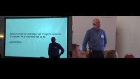 Thumbnail for entry 1a Hva er programmering - spørsmål - Knut Mørken og Cathrine Tellefsen