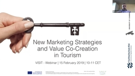 Thumbnail for entry New Marketing Strategies and Value Co-Creration in Tourism