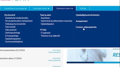 Thumbnail for entry Miten ilmoittaudun workshopiin?