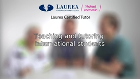 Thumbnail for entry Certified Tutor -koulutus tietoiskuvideo: Teaching and tutoring international students - Tiina, Lloyd, Sebastian