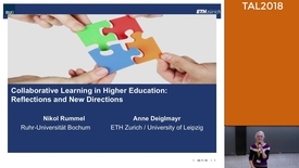 Thumbnail for entry Keynote 2 TAL2018: Reflections and New Directions