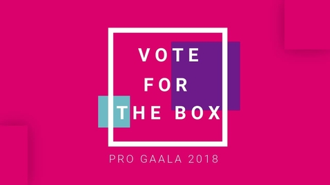 Thumbnail for entry Pro Gaala Promo 2