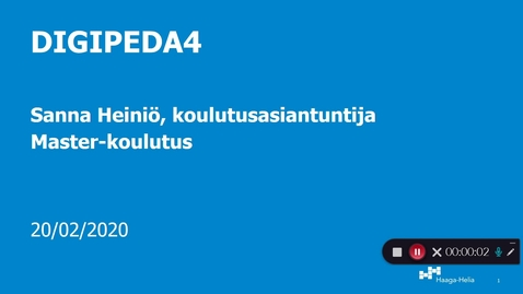 Kaltura Capture recording - helmikuu 21. 2020, 5:48:49 pm