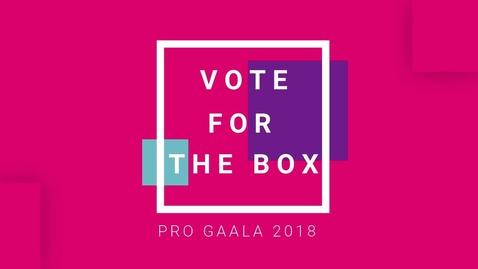 Thumbnail for entry TheBox_Pro Gaala Promo 3