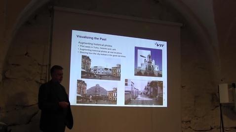 Thumbnail for entry Charles Woodward VTT Helsinki 15.11.2018