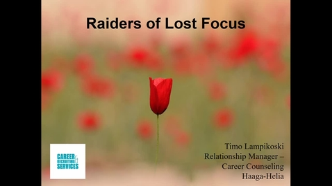 Raiders of Lost Focus
