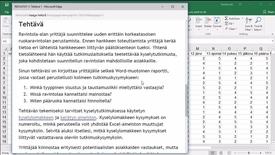 Thumbnail for entry Tehtävän 1 aloitus