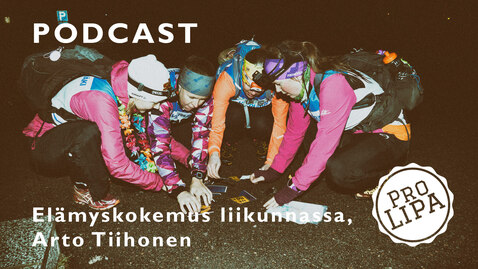 Thumbnail for entry Elämyskokemus liikunnassa; Arto Tiihonen