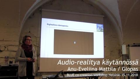 Thumbnail for entry Blue co-creation workshop Glopas Helsinki 15.11.2018