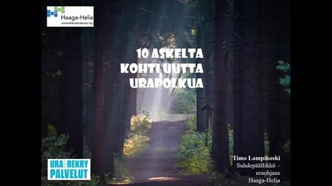 10 askelta kohti uutta urapolkua