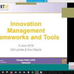 Thumbnail for channel SmartUp Master Programme in Entrepreneurship