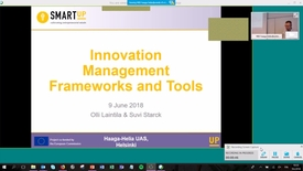 Thumbnail for entry Smartup Innovation Management Frameworks 20180609