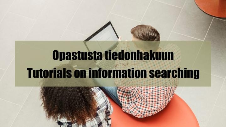 Thumbnail for channel Kirjasto- ja tietopalvelut / Library
