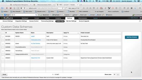 Thumbnail for entry Creating a Custom Data Scheme