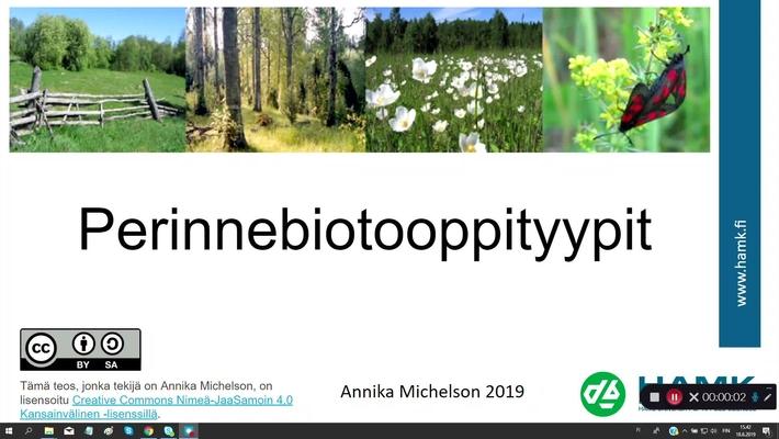 Perinnebiotoopityypit (2019)