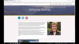 Thumbnail for entry Google Sites - ePortfolion / oman sivuston luominen
