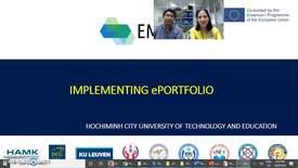 Thumbnail for entry ePortfolio implementation in Education 4.0