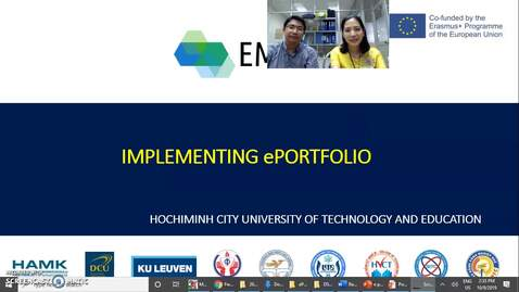 Thumbnail for entry ePortfolio implementation in Education 4.0