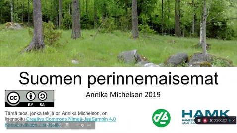 Thumbnail for entry Suomen perinnemaisemat