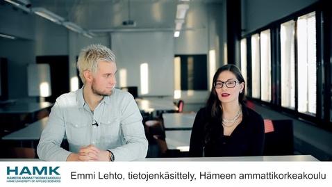 Thumbnail for entry Tietojenkäsittely - Hämeen ammattikorkeakoulu
