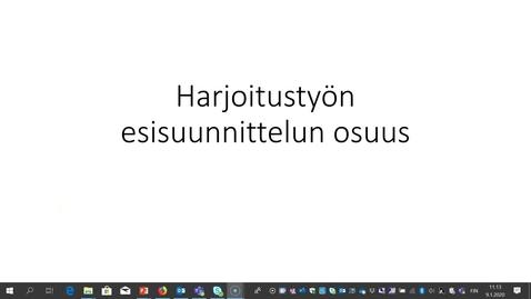 Thumbnail for entry Liikennesuunnitteluprosessi2020_esisuunnittelijan_rooli.mp4