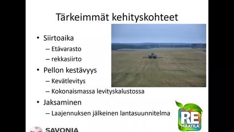 Thumbnail for entry Lantalogistiikka