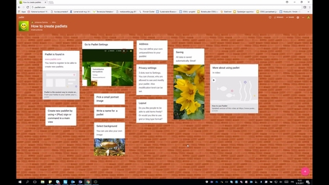 Thumbnail for entry How to use Padlet