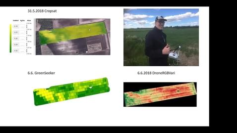 Thumbnail for entry Droonit  täsmäviljelyssä