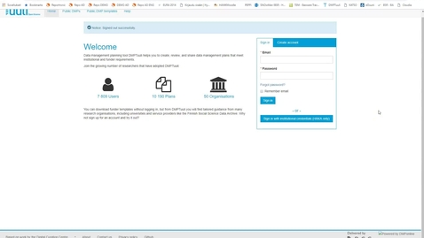 Thumbnail for entry DMPTuuli -työkalun esittely
