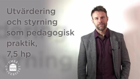 Miniatyr för inlägg Utvärdering och styrning som pedagogisk praktik