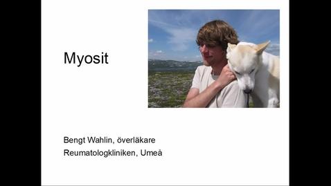 Miniatyr för inlägg Myosit Bengt Wahlin