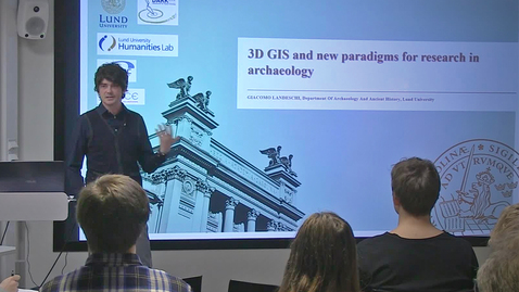 """Miniatyr för inlägg 181130 Landeschi: """"3D GIS and new paradigms for research in archaeology"""""""