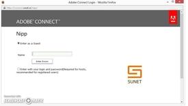 Miniatyr för inlägg Webbmöte med Adobe Connect - så här kommer du igång