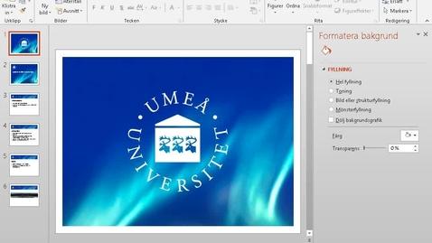 Miniatyr för inlägg Spela in föreläsning med PowerPoint