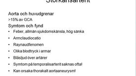 Miniatyr för inlägg T8 Reumatologi - Vaskulit film 3 EwaB jan15 10min.mp4