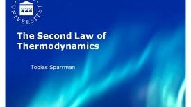 Miniatyr för inlägg 2. Second law