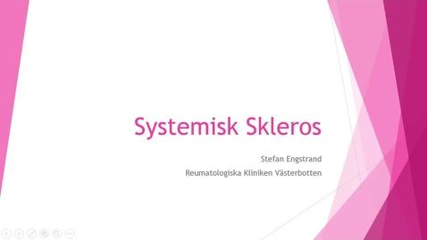 Miniatyr för inlägg Systemisk Skleros Stefan Engstrand