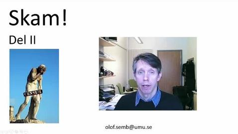 Miniatyr för inlägg T8 PU - Skam 2 Grundaffekten - Olof Semb 2016 19 min