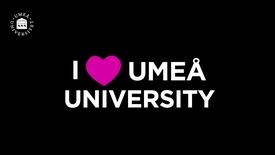 Miniatyr för inlägg I love Umeå University